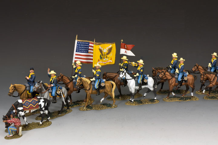 John's Ford Cavalry On The Move