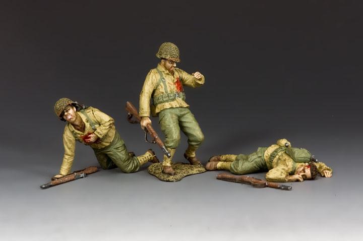 DD317 Dead & Wounded GI's